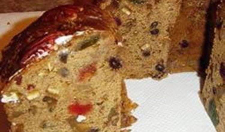 Holiday Bourbon Fruitcake