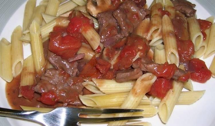 Saute of Beef with Wild Mushrooms