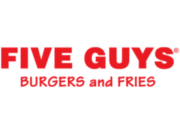 Five Guys adresses in Bluewater' Kent