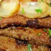 Irish Lassie's Liver and Onions