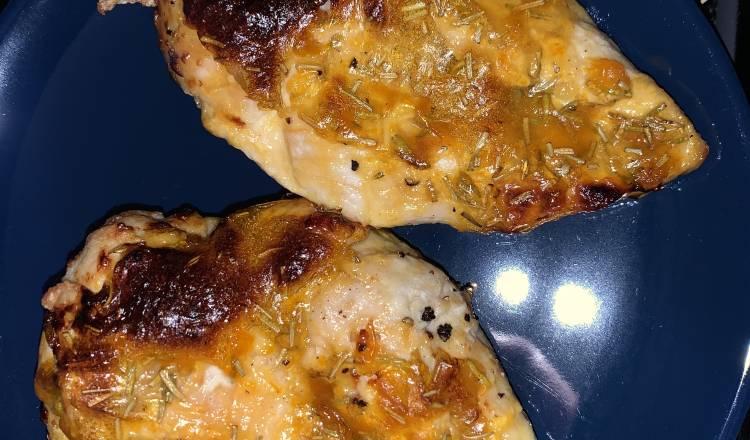 Air Fryer Apricot-Glazed Chicken Breasts